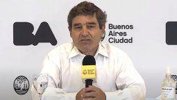 El ministro de Salud porteño aseguró que aumentaron los casos de Coronavirus en la Ciudad de Buenos Aires, y pidió hacer un esfuerzo suplementario.