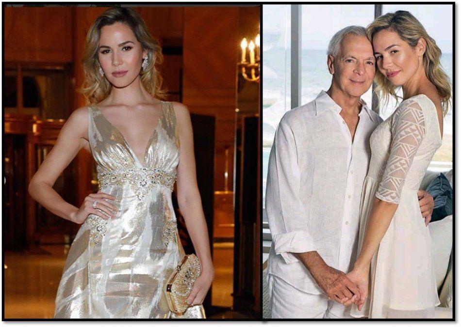El pasado oculto de la nueva esposa de Eduardo Costantini: Estuvo con otro anciano que murió