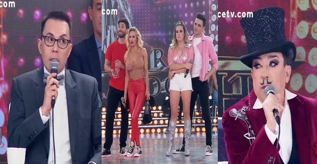 Escándalo: gritos e insultos entre Aníbal Pachano y Marcelo Polino en los pasillos de Showmatch