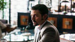 Diego Luna interpreta a Miguel Felix Gallardo en la nueva entrega de Narcos