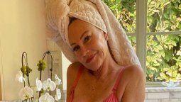 ¡Radiante! Melanie Griffith posa en bikini con 63 años