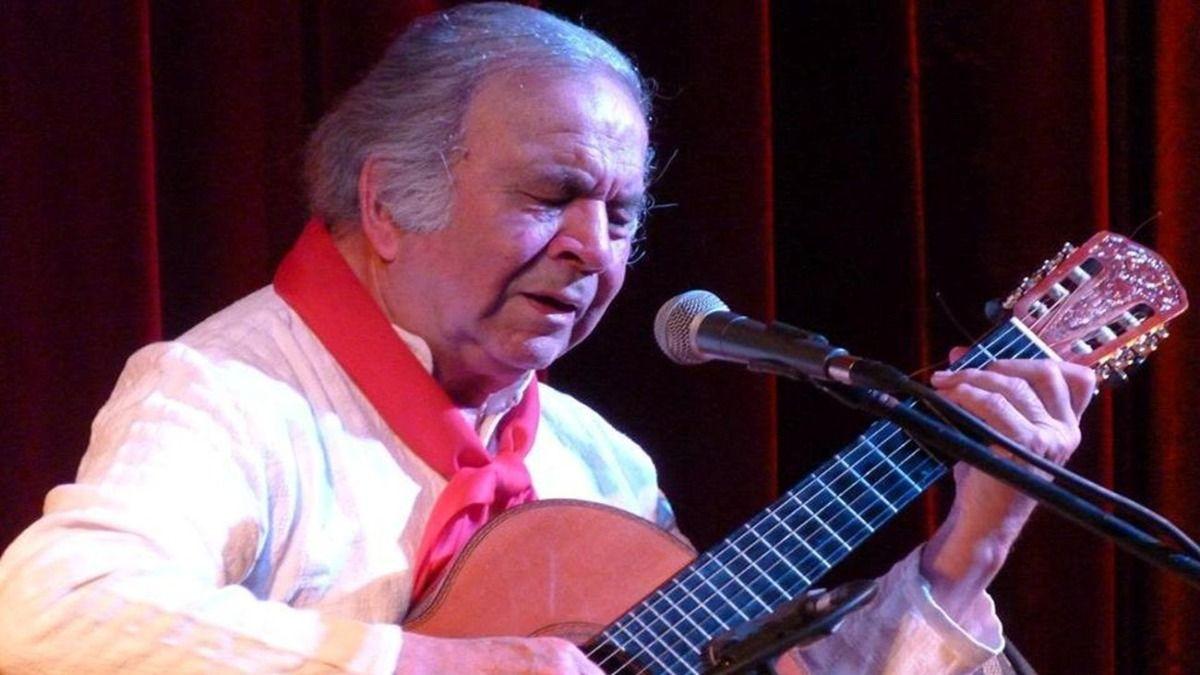 El músico Omar Moreno Palacios es uno de los grandes exponentes de la canción surera bonaerense