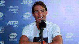 ¡El mejor! Rafa Nadal apoya a tenistas en condición de discapacidad