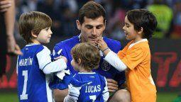 ¡De tal palo! Iker Casillas muestra las habilidades de su hijo Lucas