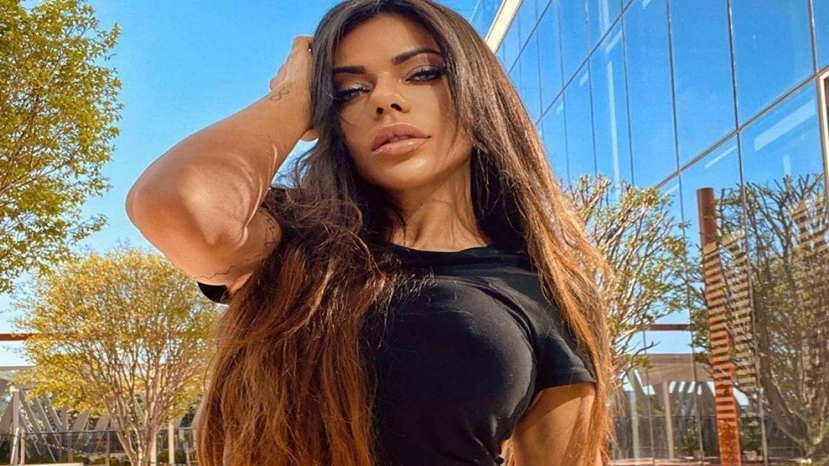 La modelo brasilera Suzy Cortez