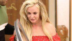 Britney Spears no tiene paz.