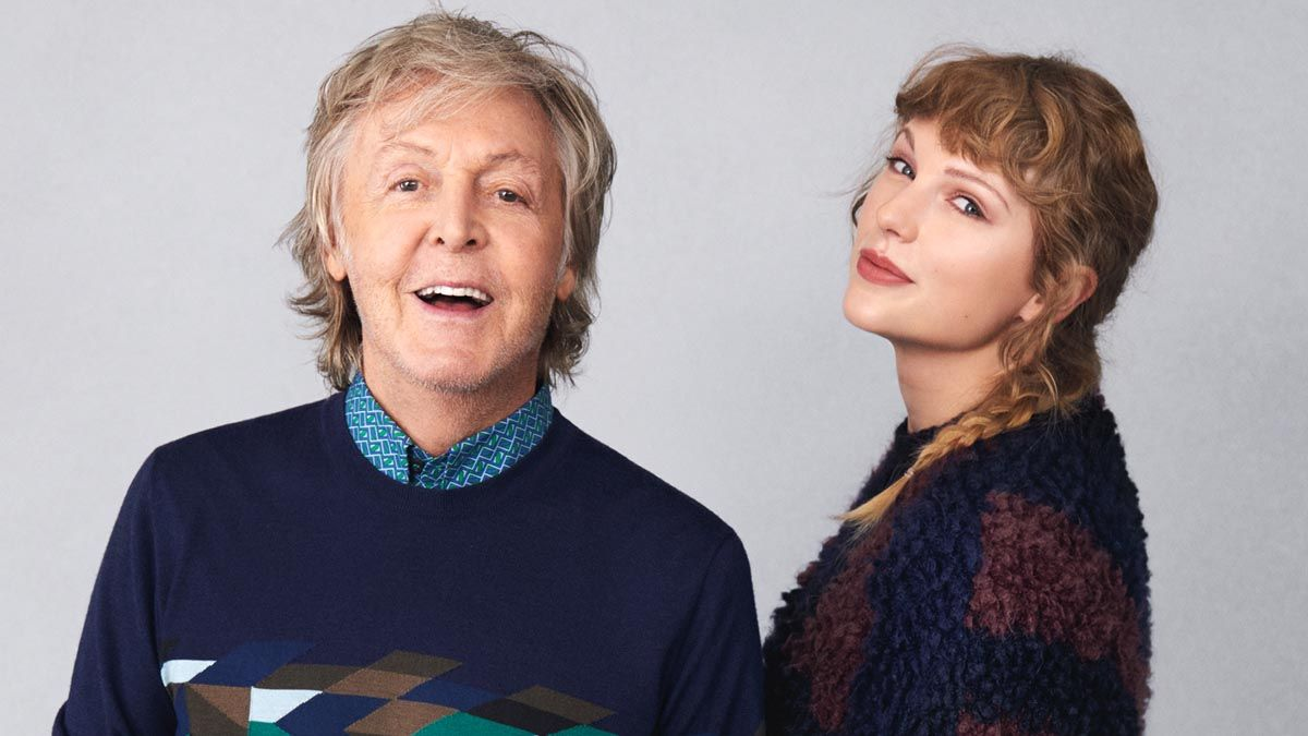 Taylor Swift y Paul McCartney