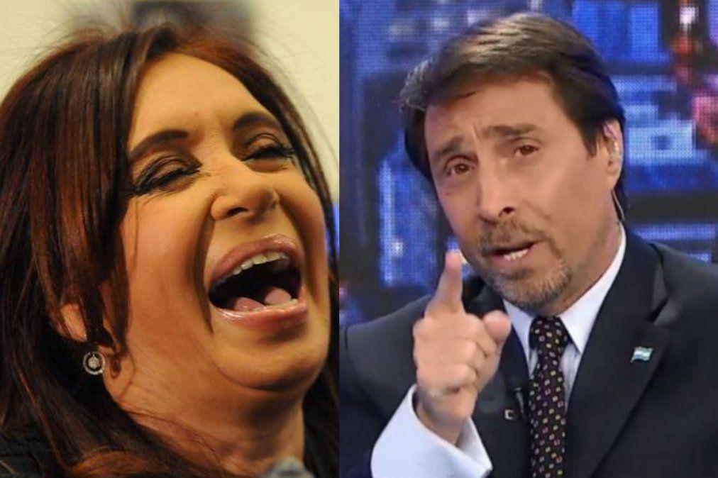 Eduardo Feinmann le respondió a CFK por un twit que hizo la vicepresidenta.