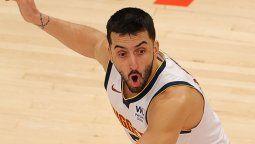 Facundo Campazzo logró superar a Ginobili en la NBA