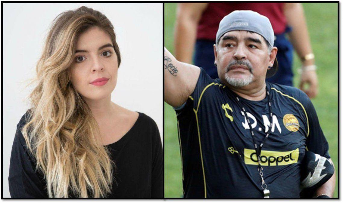 Dalma salió al cruce de Diego Maradona: ¿Pregúntenle quién le avisó a él que se había muerto su mamá?