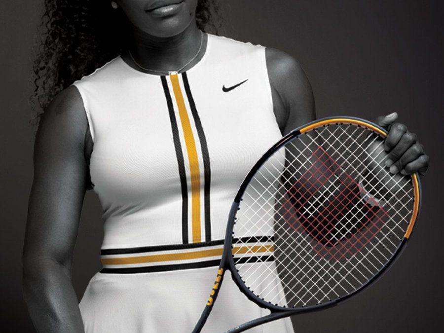 Serena Williams estrena raqueta y ya piensa en Roland Garros