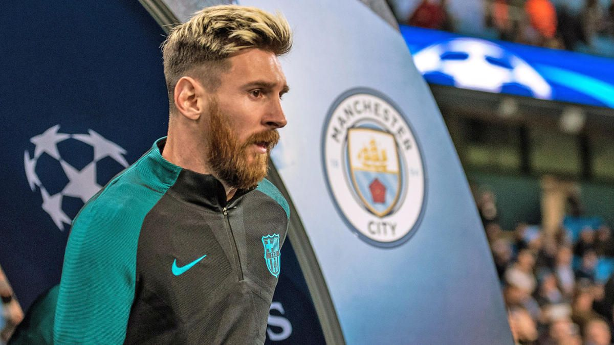 ¡A por él! Lionel Messi está siendo esperado en Manchester