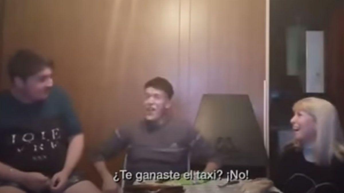 Emotivo video: El momento en el que la taxista le contó a sus hijos que ganó un 0 km en Bienvenidos a bordo