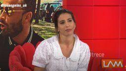 Cagón que es: la reacción de Cinthia Fernández al enterarse que Martín Baclini no quiere coincidir con ella