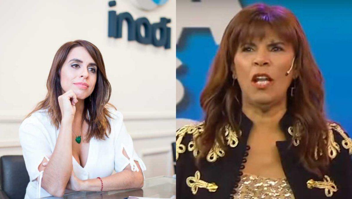 Anamá Ferreira cuestionó fuertemente a Victoria Donda