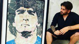 Diego Junior pidió justicia por su padre, Diego Maradona