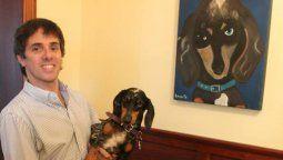 Robertito Funes un gran rescatador de animales