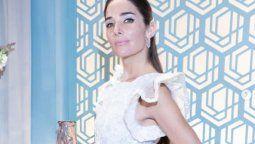 Juana Viale con impresionante look