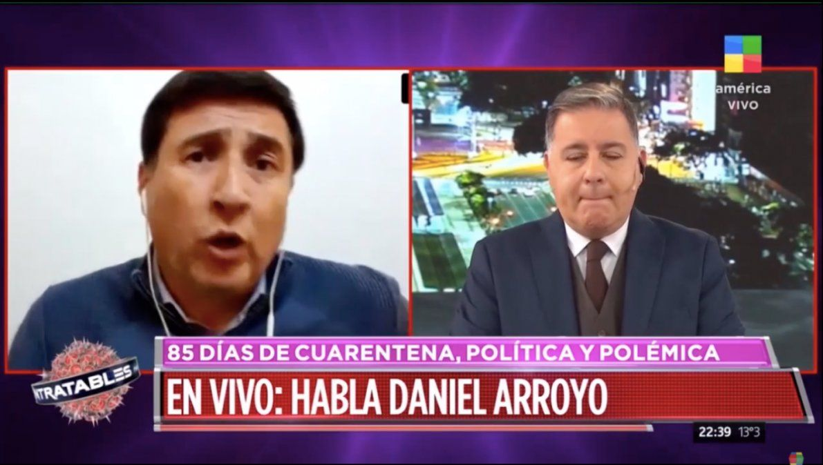 Daniel Arroyo no tiene coronavirus