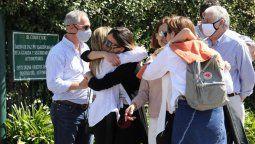 Familiares cercanos despidieron a la diseñadora Elsa Serrano quien falleció en un incendio el miércoles pasado