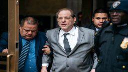 El productor Harvey Weinstein fue setenciado a 23 años
