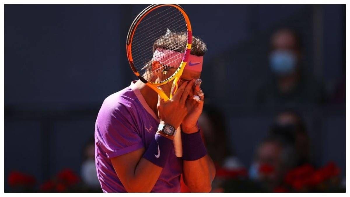 ¡Eliminado! Rafa Nadal no pudo en Madrid