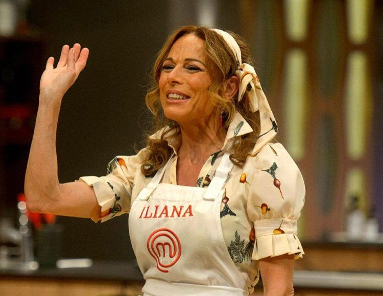 Iliana Calabró es la primera clasificada del repechaje de Masterchef Celebrity