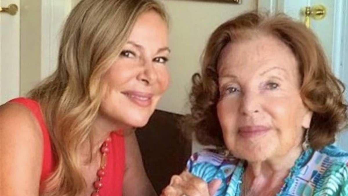 ¡No puede ser! Ana Obregón sufre la muerte de su madre