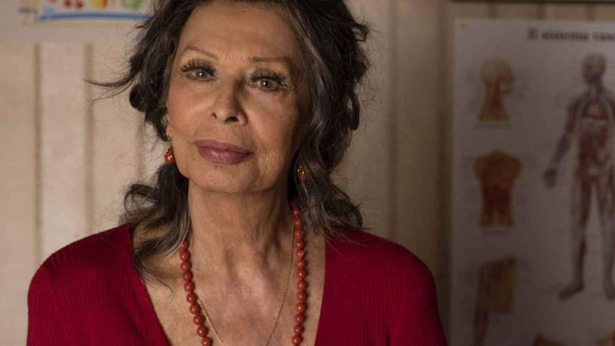 ¡Vuelve! Sophia Loren regresa a la pantalla grande con emotiva película