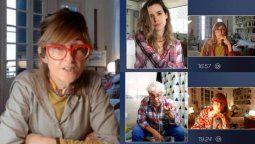 La serie Terapia en Cuarentena es protagonizada porCarola Reyna, Mercedes Funes, Luciano Cáceres, Coco Sily y Violeta Urtizberea