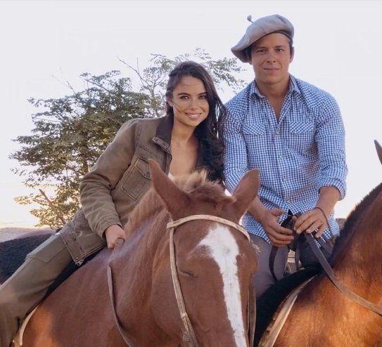 Luisana Ojeda y su novio Federico