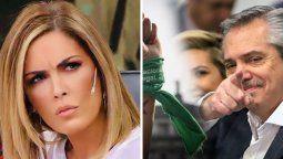 Viviana Canosa, furiosa con el presidente