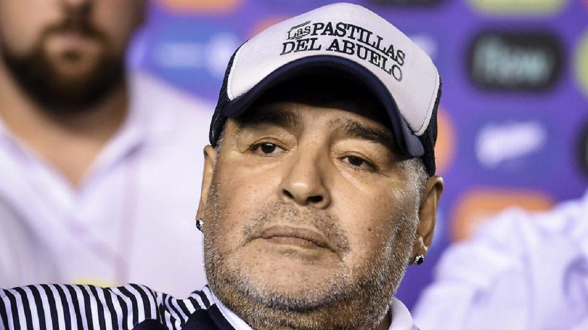 Diego Maradona habló sobre las polémicas con sus hijas