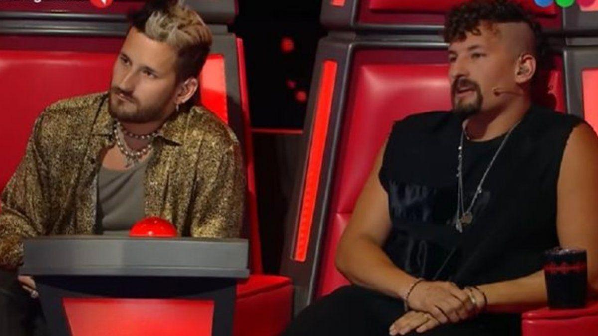 Lali Espósito amenazó a Mau y Ricky en La Voz Argentina