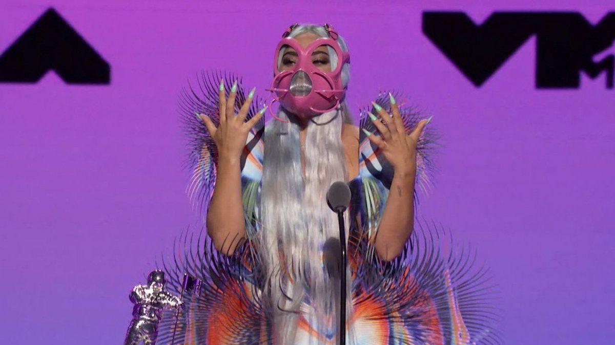 ¡Insuperable! Lady Gaga arrasó en la premiación de los VMAs 2020