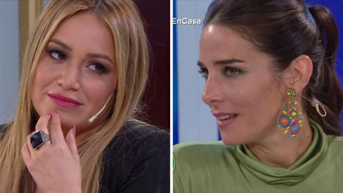 La reacción de Karina la Princesita cuando Juana Viale halagó a su novio