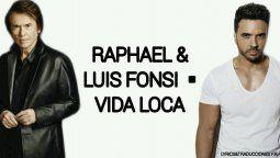 ¡Qué dúo! Raphael y Luis Fonsi unen sus voces en famoso tema