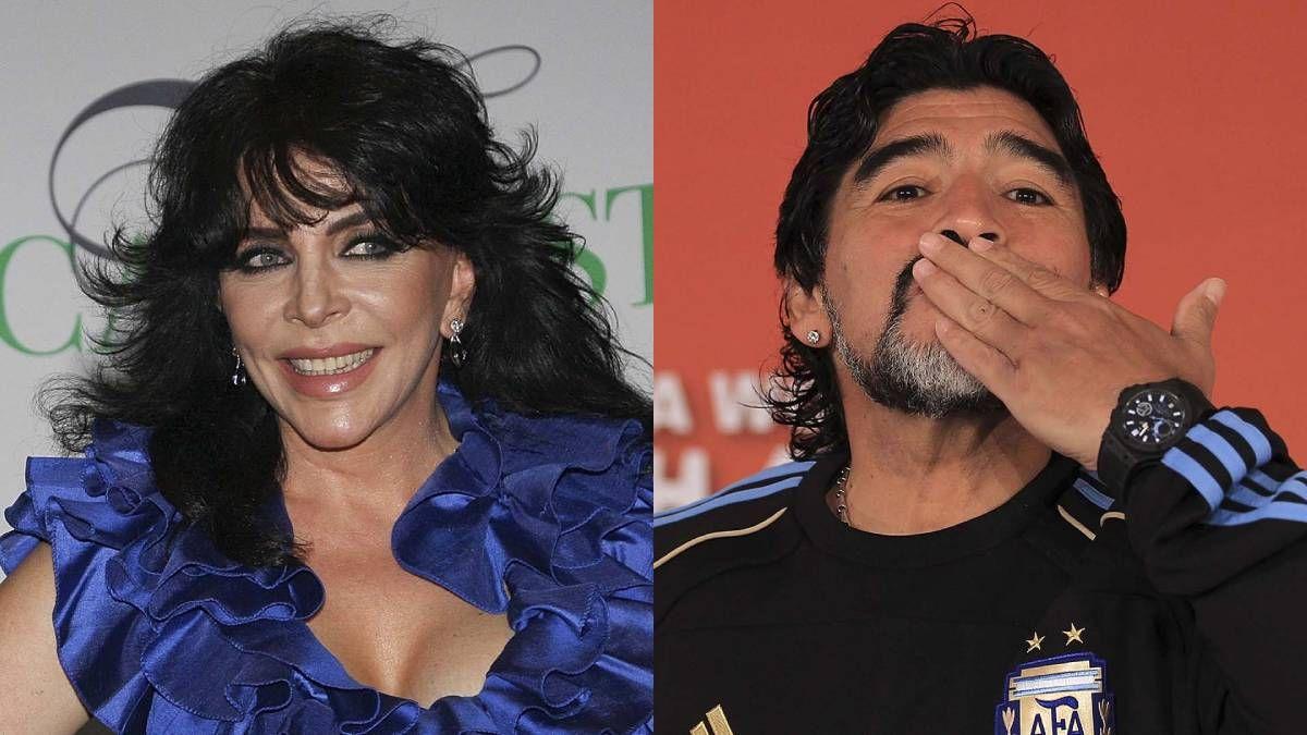 ¡Se la jugó! Diego Maradona hizo de todo por conocer a Verónica Castro