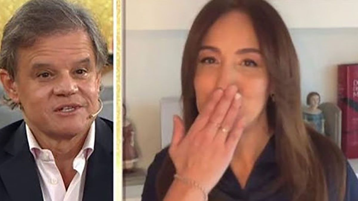 Quique Sacco felicitó por su cumpleaños a María Eugenia Vidal con un romántico mensaje