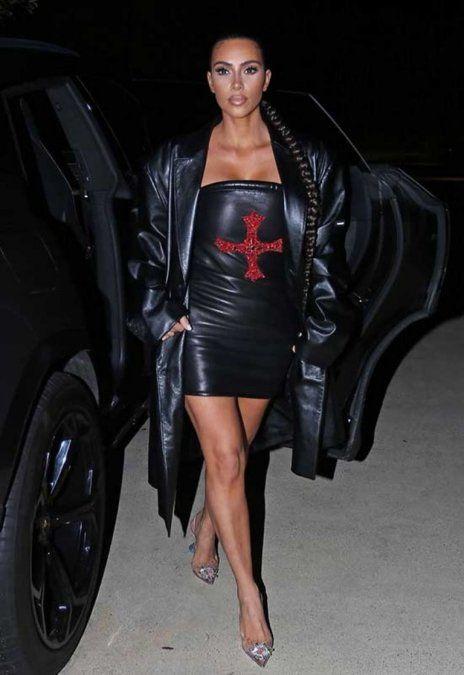 Kim Kardashian y un curioso peinado