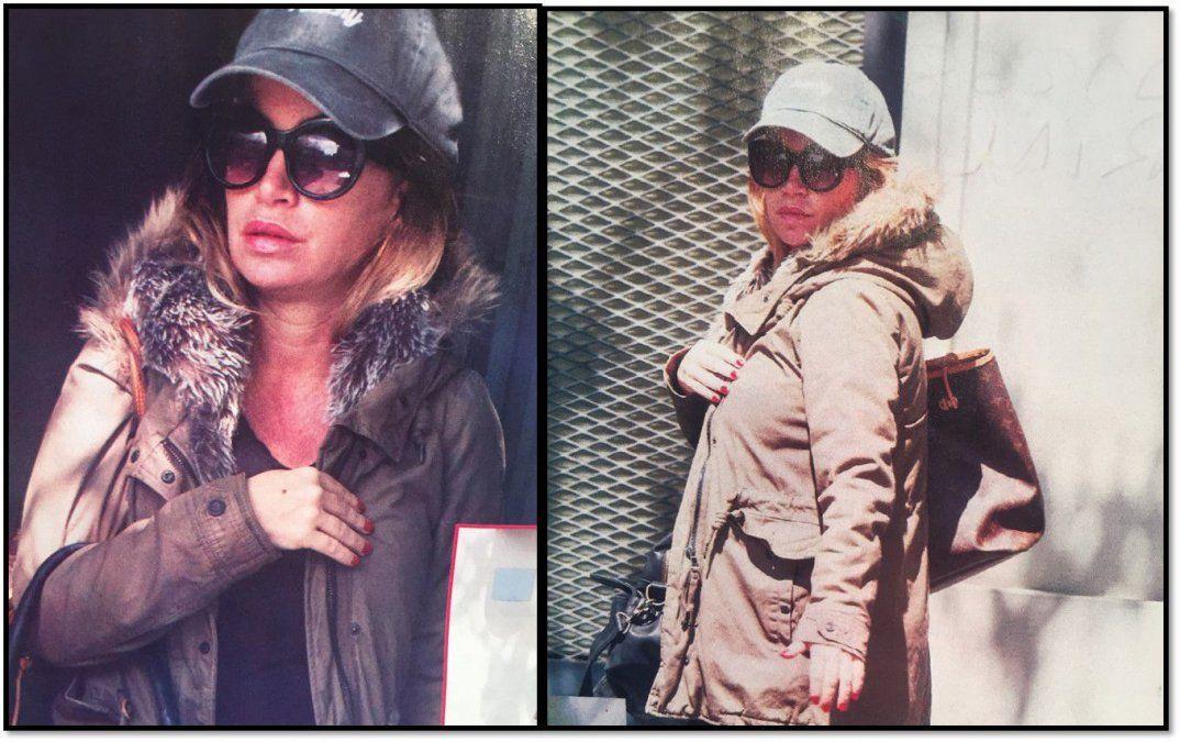 Florencia Peña casi irreconocible en su primera salida después de ser mamá de Felipe
