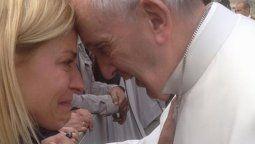 Eugenia Tobal sobre su encuentro con el papa: fue horrible