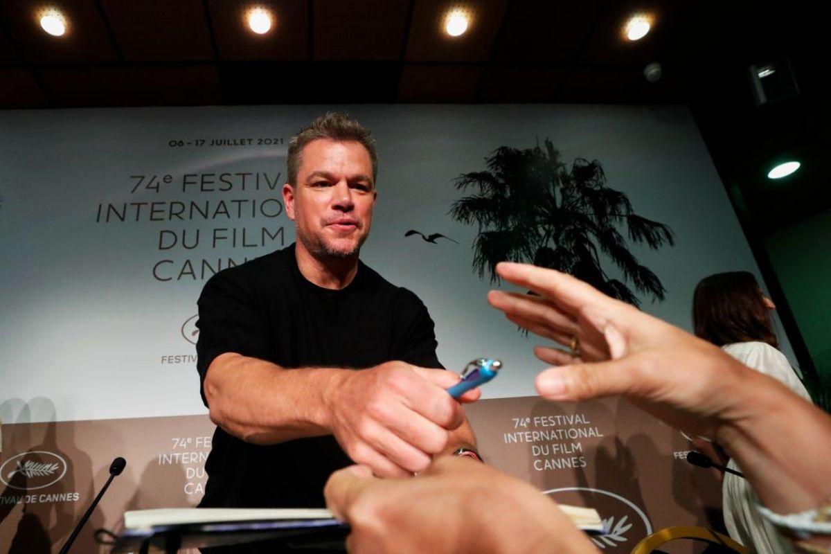 El actor Matt Damon reveló durante el Festival de Cannes