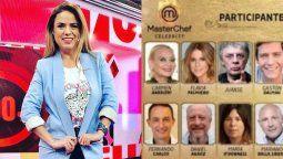Marina Calabró reveló las altísimas sumas que cobrarán los participantes de MasterChef Celebrity 2