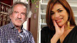La actriz contó que con su ex pareja Pablo Alarcón, con quien tuvo a sus hijas Agostina y Antonella habla lo justo y necesario.