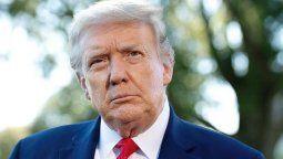 El ex presidente Donald Trump volvió a hablar del fraude electoral