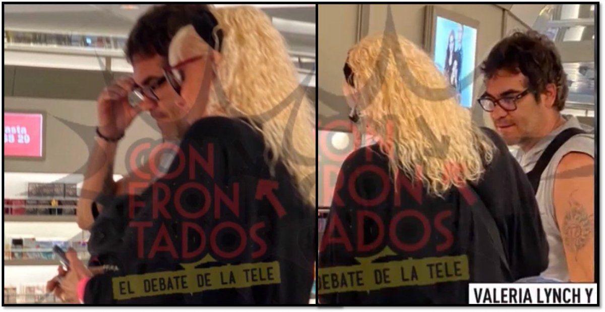 Las primeras fotos de Valeria Lynch y su nuevo amor, de viaje romántico a Uruguay