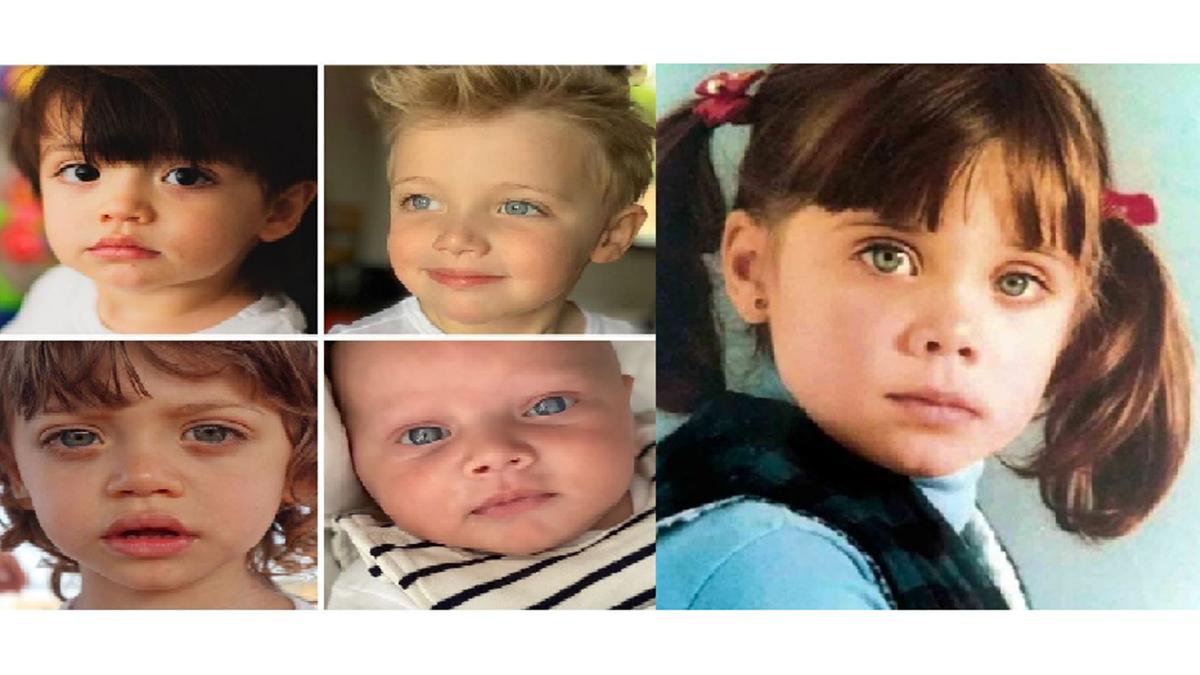 La genética: la foto que muestra la similitud de Pilar Rubio con sus hijos