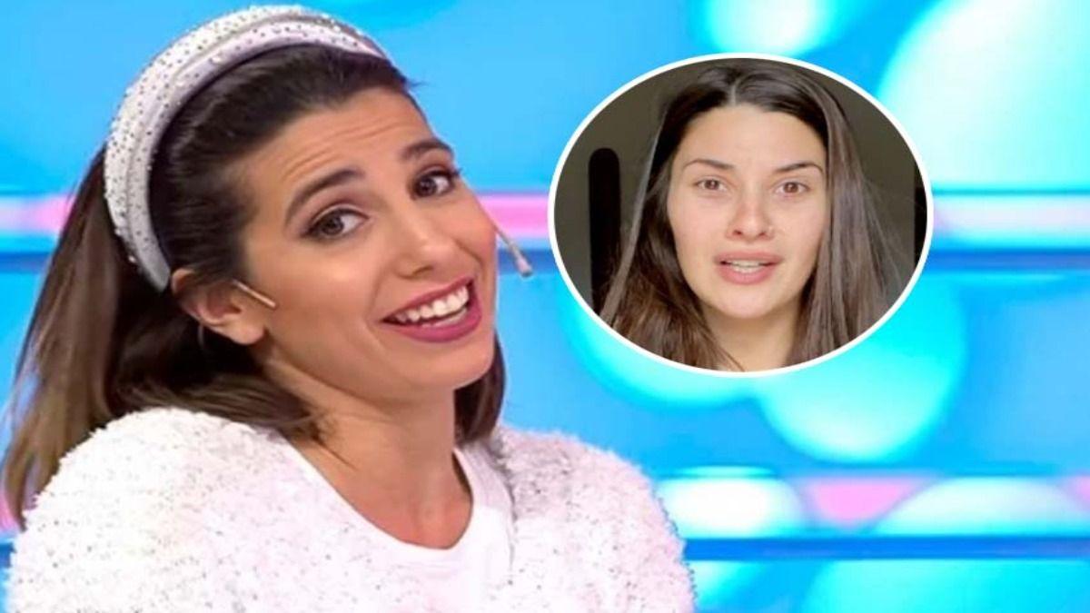 La panelistaCinthia Fernández enfrentó a Ivana Nadal por su comentario acerca de las vacunas