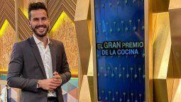 Juan Marconi es el co-conductor de El Gran Premio de la Cocina